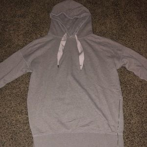 Aerie hoodie with zipper detailing on sides
